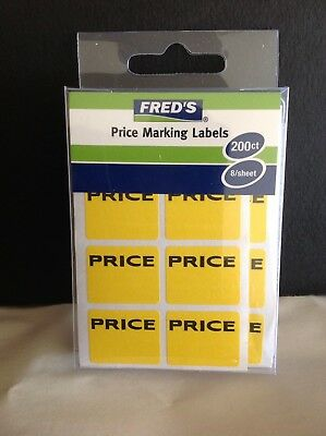 1200 Garage Yard Sale Rummage Stickers Price Labels