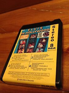Vintage music tape 8-Track Elvis in Hollywood Windsor Region Ontario image 2