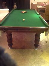 CUSTOM MADE SLATE BILLIARD TABLE Mill Park Whittlesea Area Preview