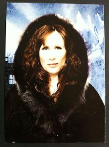 Dr-Who-Official-BBC-WALES-Promotional-Post-Card-Cast-Card-Catherine-Tate-RARE