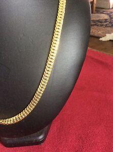 18c gold filled long necklace Beverley Park Kogarah Area Preview