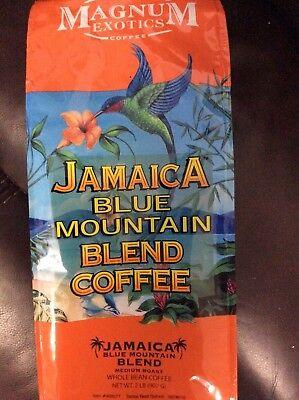 Jamaica Blue Mountain Blend Coffee 2 LBS Brand New