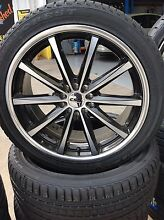 For sale is 4x CSA Savanna wheels and tyres South Morang Whittlesea Area Preview