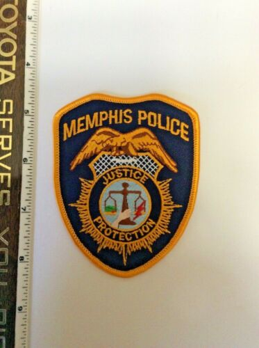 Memphis Tennessee Police Shoulder Patch New