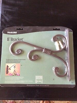 """Hold All 8"""" Bracket for hanging plants, wind chimes, bird feeders & lanterns"""