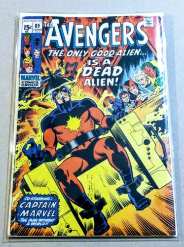 The Avengers #89 Bronze Age Collectible Comic Book Marvel Comics!
