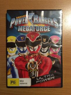Brand New in Plastic Seal - Power Rangers Megaforce DVD Ashtonfield Maitland Area Preview