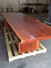 Blue Gum slab dining table Strathfield South Strathfield Area Preview