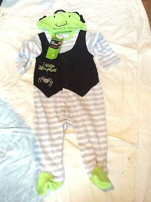 Sainsbury's Baby Clothes Halloween (BNWT SAINSBURY'S TU CLOTHING BABY LITTLE MONSTER FANCY DRESS HALLOWEEN)