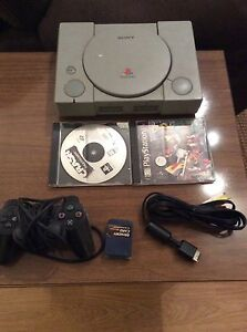 Original Vintage PlayStation PS One