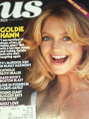Vintage Us Magazine August 1978  Goldie Hawn