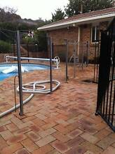Pool fencing - glass panels Chifley Woden Valley Preview