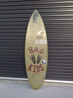 5'2 ft misfit shadow puppet surfboard  Flinders Mornington Peninsula Preview