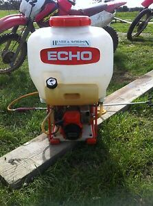 Echo petrol Chemical spray back pack Enfield Golden Plains Preview