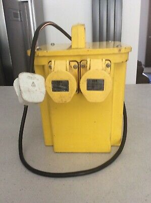 MCB 110v transformer 5000va 2 outlets, Good used condition