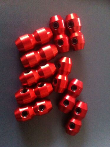 GO KART GOKART 10 X  RED GO KART CABLE CLAMPS $30. TOP QUALITY. FREE POST