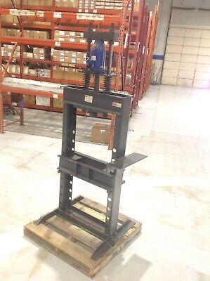 Dayton 3z916a 25 Ton Manual Hydraulic H Frame Press