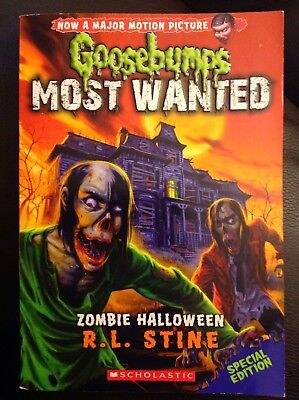 Goosebumps Most Wanted Special Edition: Zombie Halloween 1 by R. L. Stine (2014, (Zombie Halloween Rl Stine)