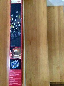 3 LED lawn stakes 2.5 ' height,  12' length $10. Each