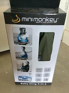 Mini Monkey Baby Sling Burra Queanbeyan Area Preview