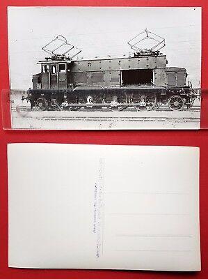 Eisenbahn Foto AK von Bellingrodt DR E-Lok E33 06    ( 24696