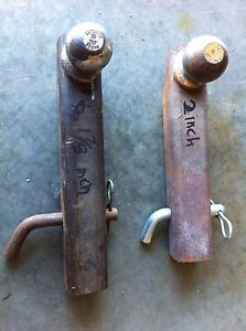 2 Trailer hitches for sale 2 inch and 1/78 inch $20 each