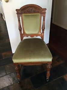 Antique Dining Chairs Duncraig Joondalup Area Preview