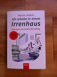 """German book """"Ich arbeite in einem Irrenhaus"""" - 7$ or swap for a book Cottesloe Cottesloe Area Preview"""