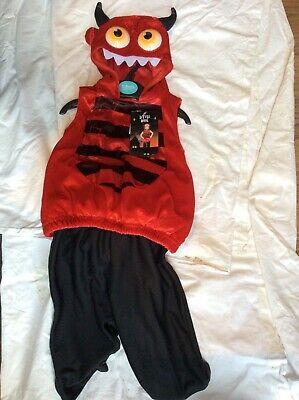 Sainsbury's Baby Halloween Costumes (BNWT SAINSBURY'S TU LITTLE DEVIL CHILD/BABY FANCY DRESS HALLOWEEN)