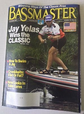 Bassmaster Magazine Jay Yelas Wins The Classic November 2002 051117Nonrh
