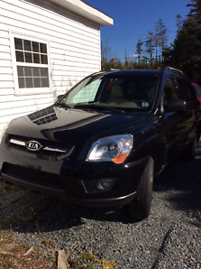 2009 Kia Sportage LX SUV, Black,  MVI to April 2020, $4199.00