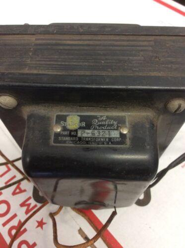 Stancor p-6321 high voltage transformer