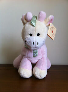 Pink-Giraffe-Baby-Girl-Rattle-Gift-Soft-Plush-Toy-Jerry