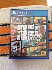 Gta 5 PS4 GREAT CONDITION CHEAP PRICE (NOT SOLD YET)