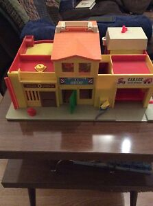 Vintage Fisher Price Little People Play Village in box! Strathcona County Edmonton Area image 2