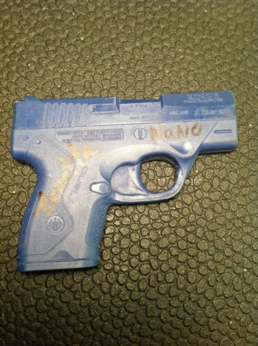 Rings Blue Gun Beretta Nano Holster Mold