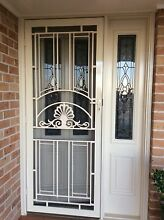Corinthian front entrance door with lead light and side light Horsley Wollongong Area Preview