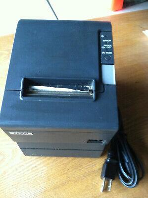 Epson Receipt Pos Printer Tm-t88iv M129h Parallelserial Ps-180 Complete
