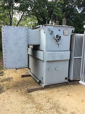 Kuhlman Substation Transformer 2000 Kva Primary 13200y 7620 Secondary 480