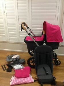 BUGABOO CAMELEON 2 - HOT PINK - Beautiful Cond. + many extras Newcastle Newcastle Area Preview