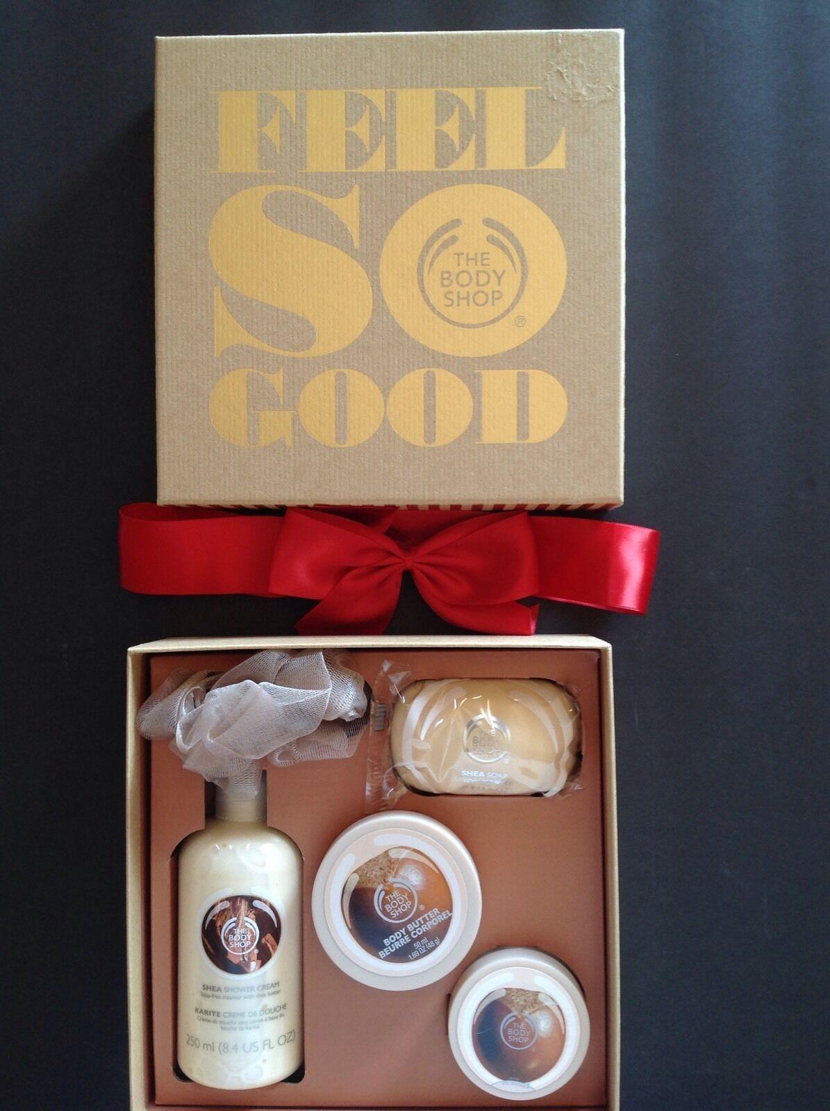 The Body Shop Shea Festive Picks Soap Shower Cream Body Butt