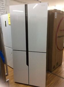 HISENSE 512L FOUR DOOR FRIDGE come with ONE YEAR WARRANTY Glenroy Moreland Area Preview
