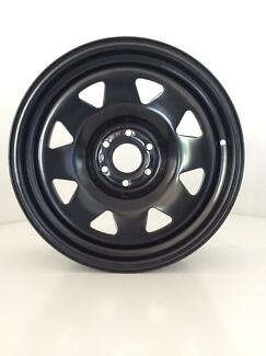 "Navara D40 NP300 R51 Dynamic Sunraysia Steel Wheels 16"" 17"" NEW"