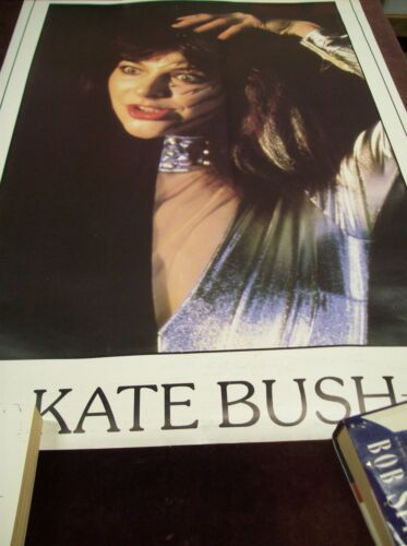 KATE BUSH PORTRAIT POSTER VINTAGE SUPER RARE UK 1980
