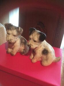 Doggy Figurines Made Between 1930's-1950's Canning Vale Canning Area Preview
