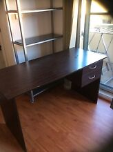 study table and four cube bookshelf Strathfield Strathfield Area Preview