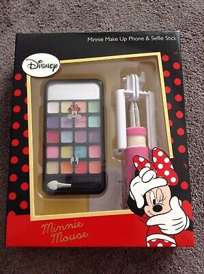 Brand new Disney Minnie Mouse Make up phone and selfie stick gift box