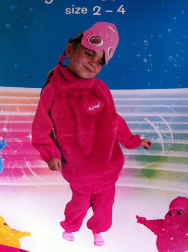 New With Tags Halloween Costume BOOHBAH...JINGBAH Hot Pink Fushia Toddler 2-4