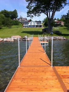 ALUMINUM BOAT DOCKS ( 5FT X 10 FT)