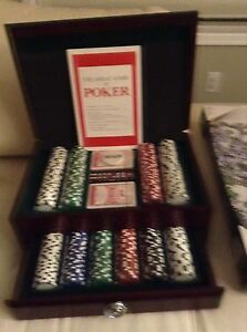 Brand news poker chips and cards